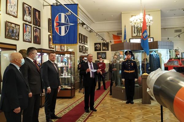 Из космоса вернулся флаг Тамбовской области