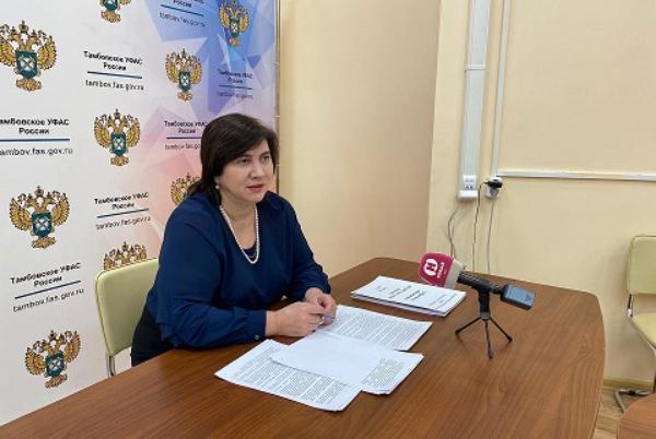 Органы власти в Тамбовской области стали реже нарушать антимонопольное законодательство
