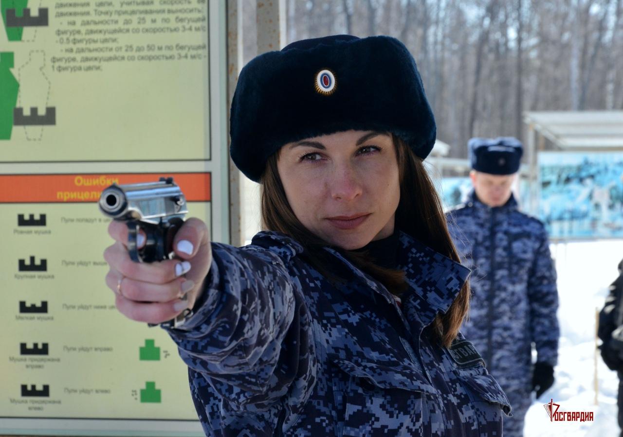 Под Тамбовом прошли стрельбы из пистолета Макарова и автомата Калашникова