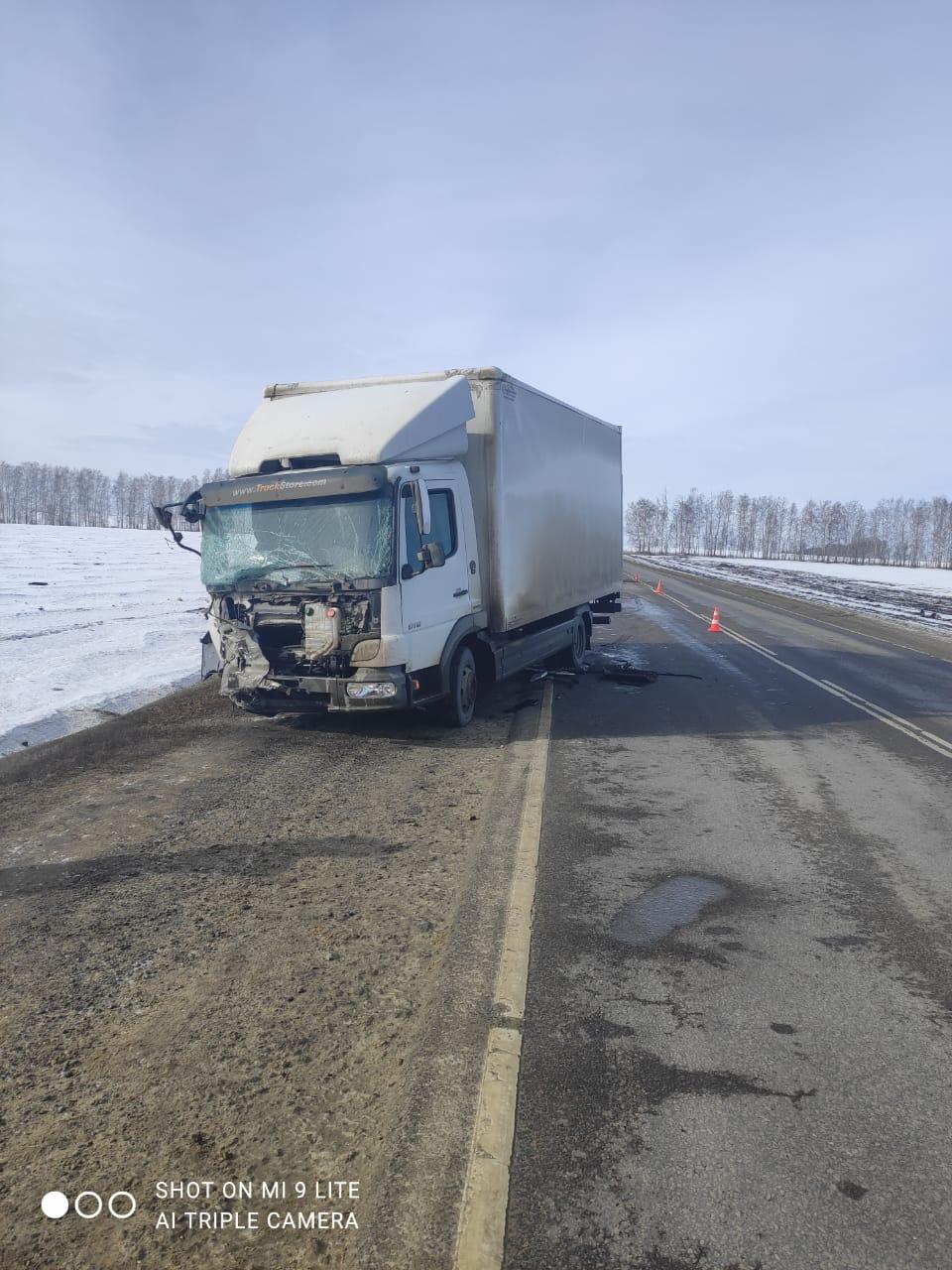 """Под Тамбовом столкнулись """"Рено Сандеро"""" и грузовой фургон: есть жертвы"""
