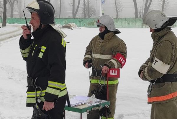 Пожарные учения: из мичуринской больницы эвакуировали 95 человек