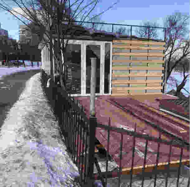 Строительство павильона на Набережной прекращено без судебного разбирательства