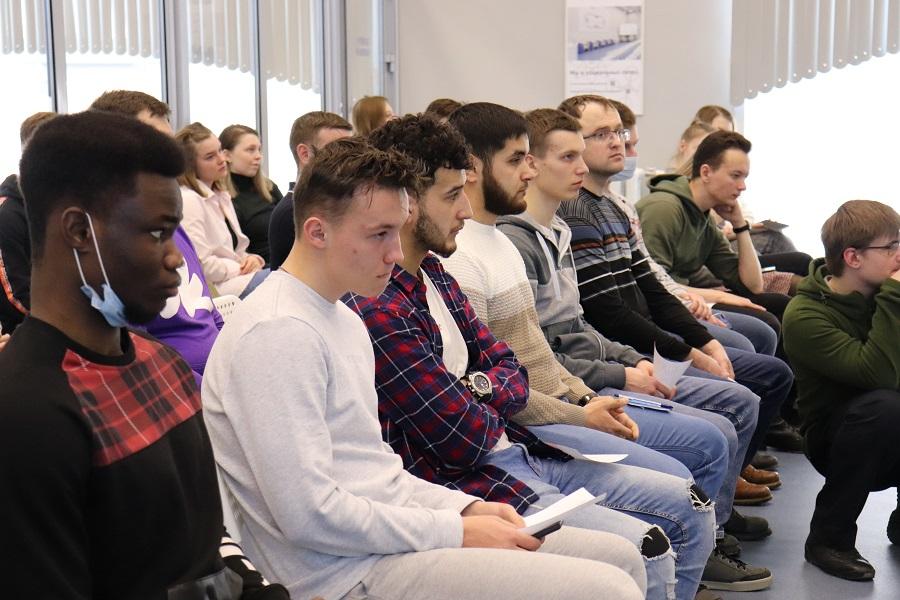 Студенты ТГУ встретились с руководством управления Росреестра по Тамбовской области