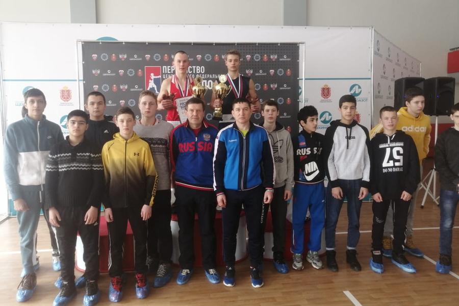 Тамбовские боксёры выиграли медали первенства ЦФО