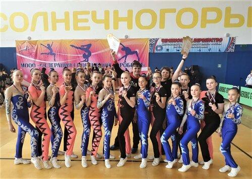 Тамбовские гимнастки завоевали три медали на чемпионате и первенстве ЦФО