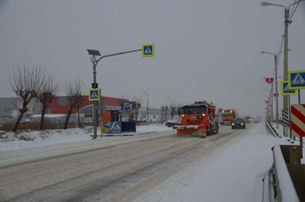 Тамбовских водителей предупреждают о снегопаде и тумане на дорогах