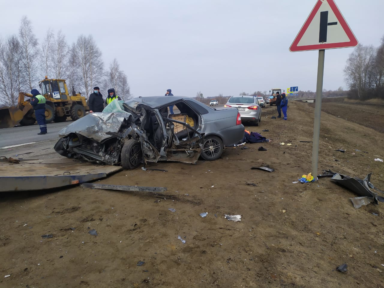 Три человека погибли в ДТП на территории Первомайского района