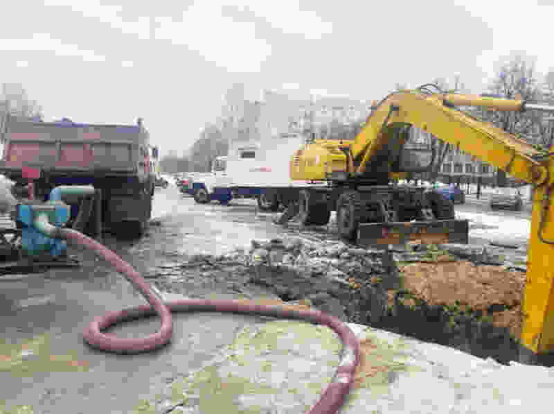 В 250 домах на севере Тамбова снижено давление воды из-за очередного порыва