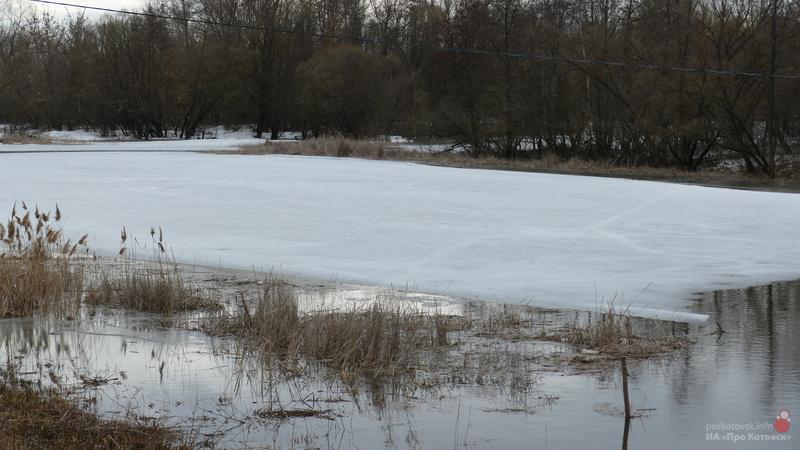 В Котовске за два дня резко увеличился уровень воды в Цне