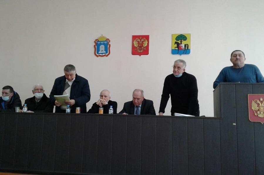 В Моршанском районе состоялась конференция общества охотников и рыболовов