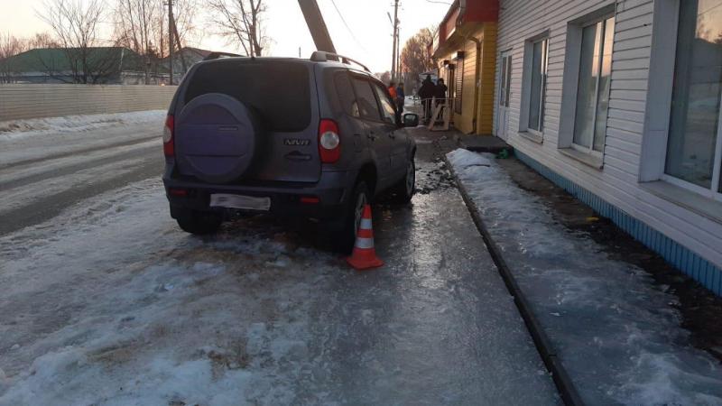 В Никифоровском районе водитель сбил ребёнка и врезался в столб