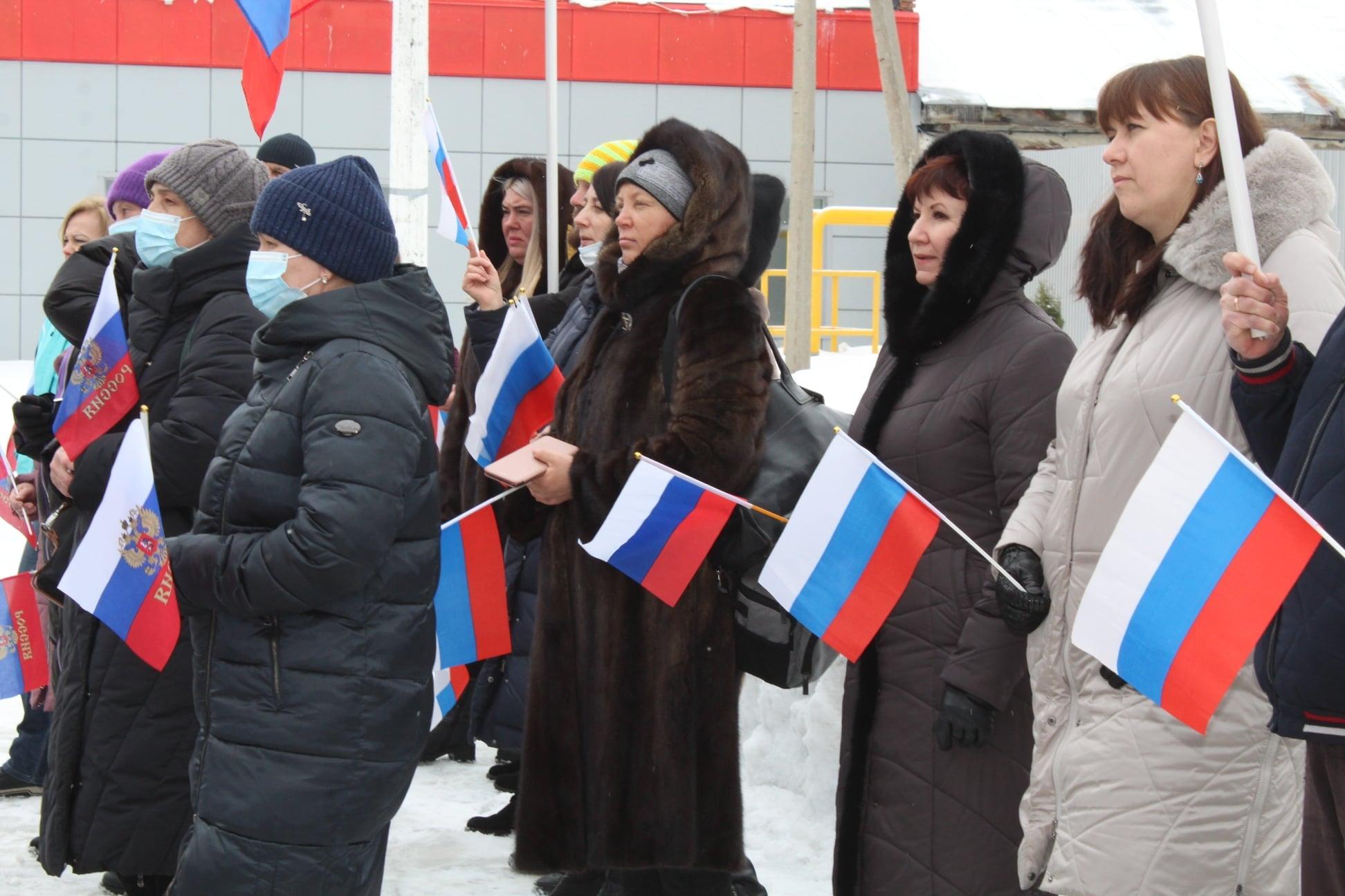 В Рассказово отметили Крымскую весну