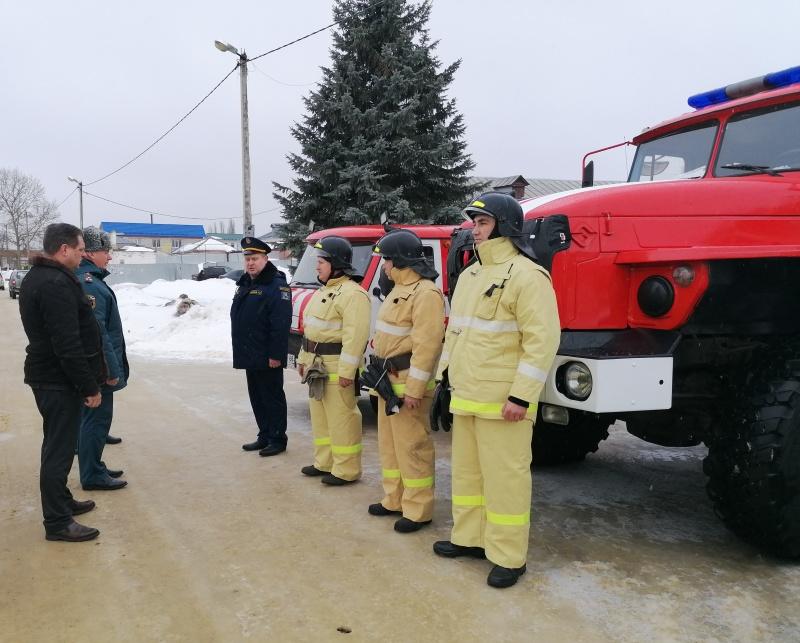 В регионе завершилась проверка готовности к паводку и пожароопасному периоду