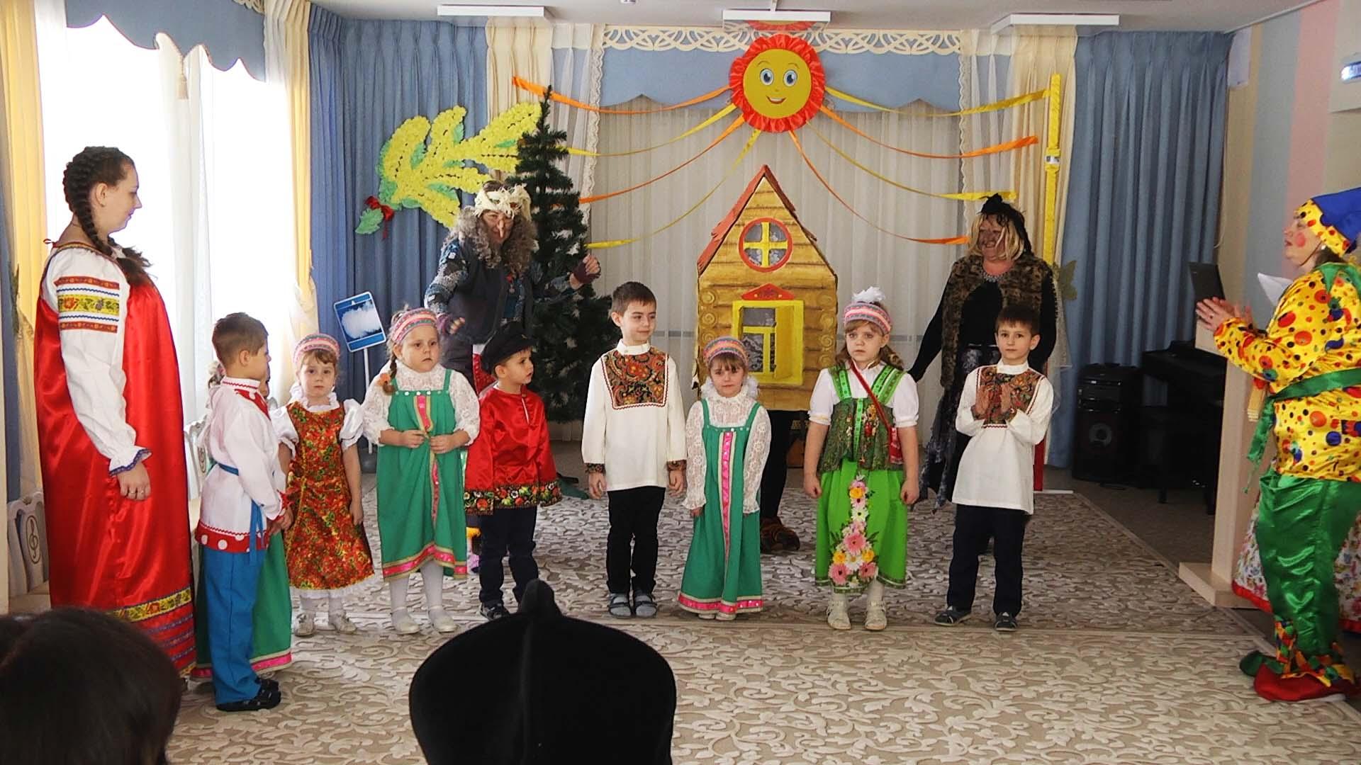 В селе Старое Хмелевое Мичуринского района отпраздновали Масленицу