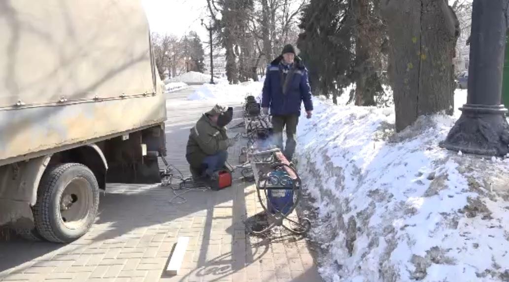 В Тамбове приступили к весенней уборке города