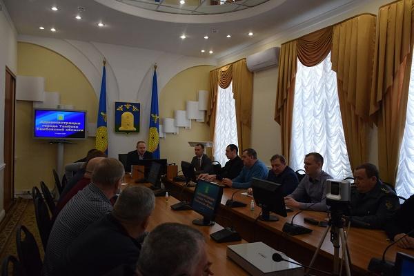 В Тамбове прошло заседание комиссии по контролю за общественным транспортом