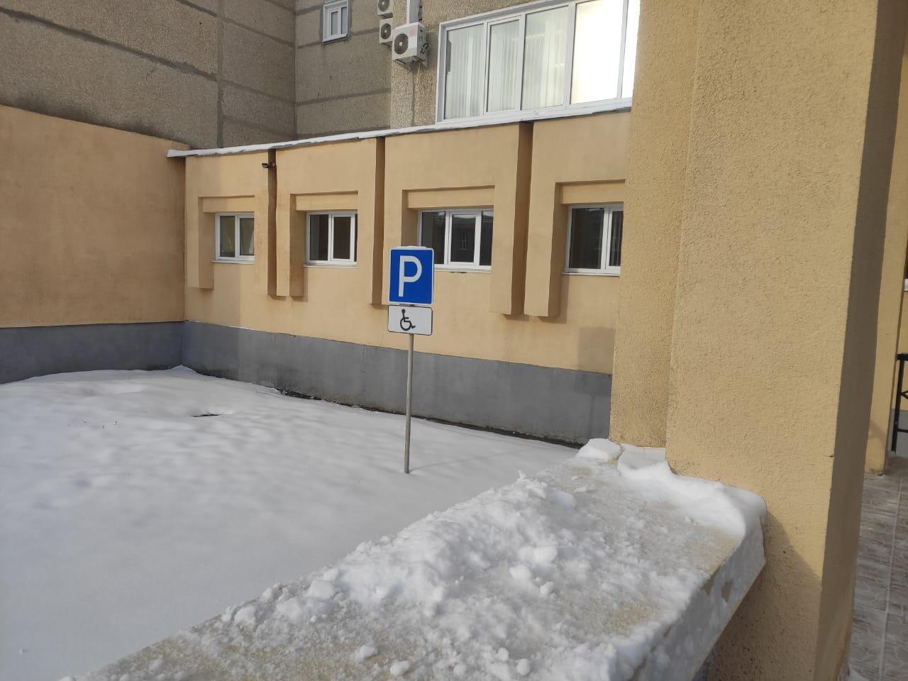 В Тамбове у поликлиники №5 появится ещё одна парковка