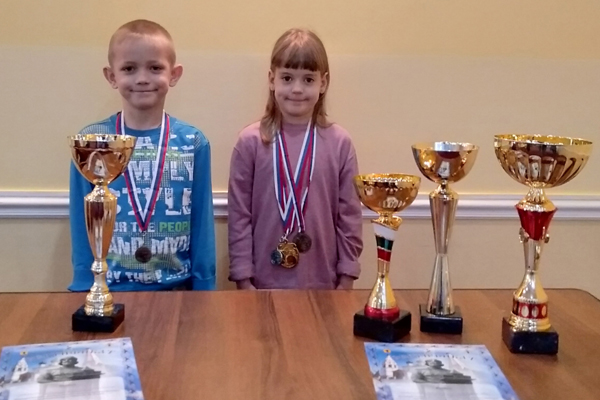 Юные шахматисты из Котовска успешно выступили на первенстве ЦФО