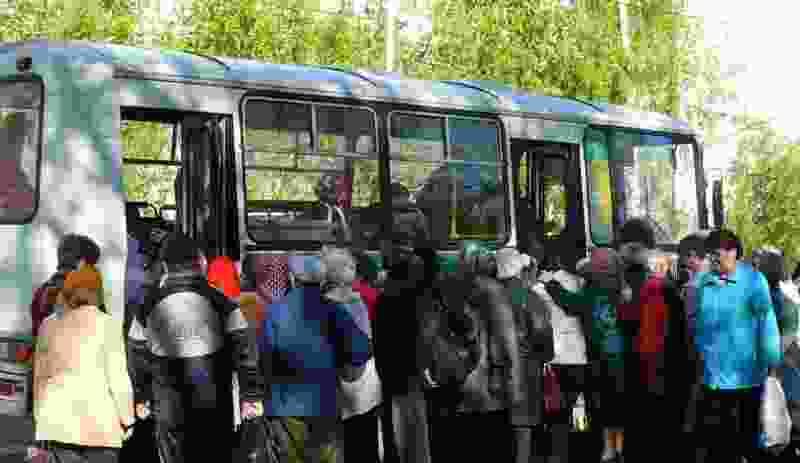Дачные автобусы начнут ходить с 17 апреля