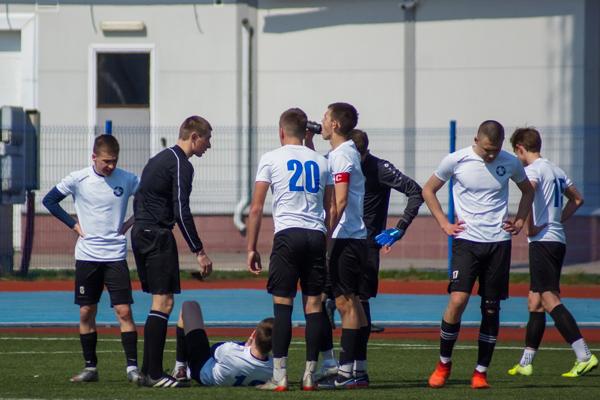 """Команда """"Академии футбола"""" впервые уступила в Смоленске"""