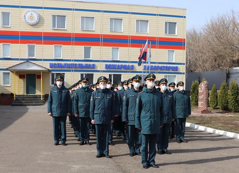 Личный состав регионального МЧС готовится к параду Победы