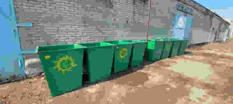 На мусорных площадках Тамбовской области установят более 1000 новых контейнеров