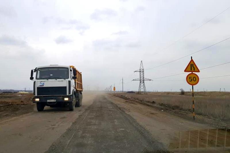 """На участке автодороги """"Северный обход"""" под Тамбовом начали ремонт"""