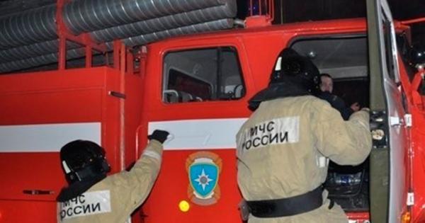 Назаводе вМичуринске произошел пожар площадью 500«квадратов»
