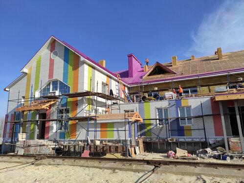 Началась запись в детский сад «Акварелька», строящийся на севере Тамбова