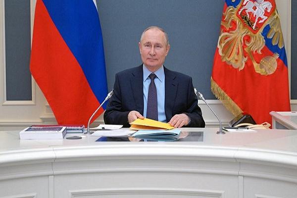 Назван заработок Владимира Путина за 2020 год
