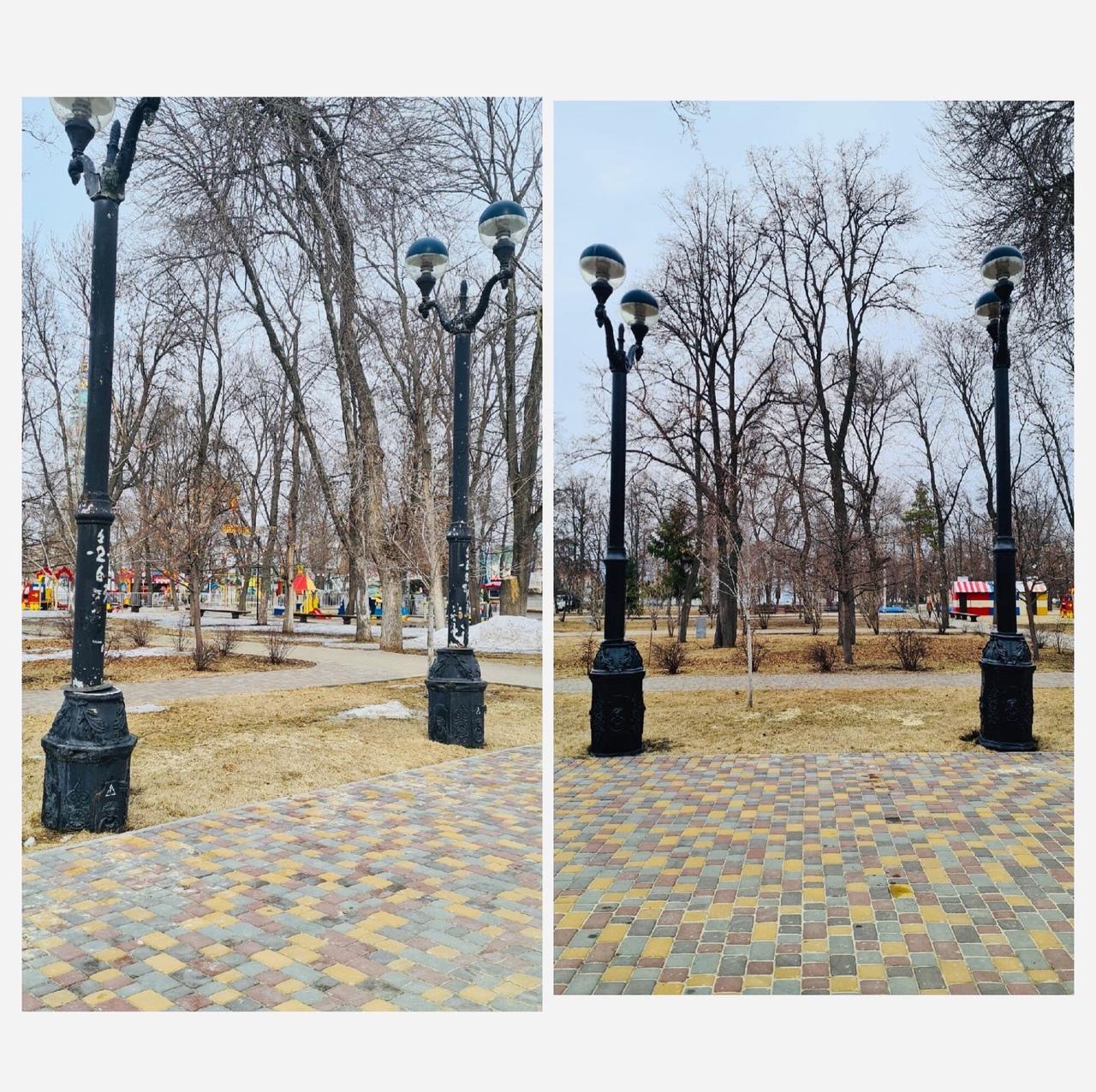 Парк культуры и отдыха в Тамбове готовится к открытию сезона
