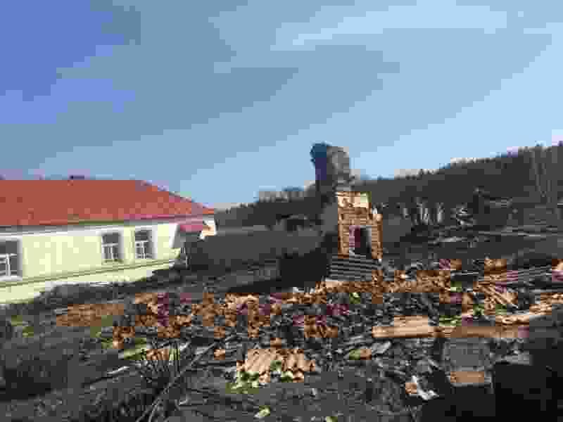 Погорельцы из Сосновского района получили материальную помощь