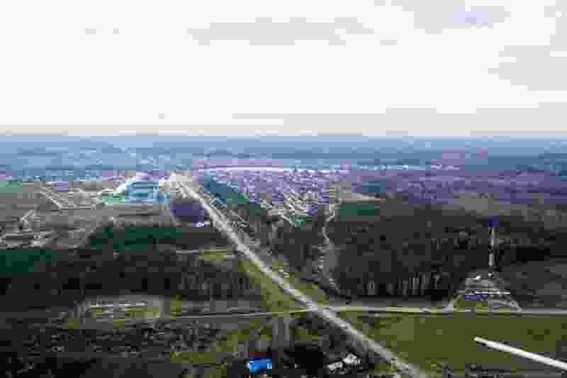 Посёлок Новая Ляда объявили запретной зоной