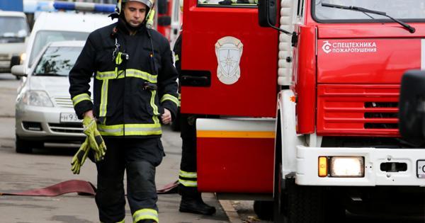 Пожар наскладе наюго-востоке Москве полностью потушен