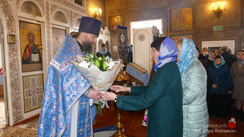 Православные котовчане отметили престольный праздник Благовещения Пресвятой Богородицы
