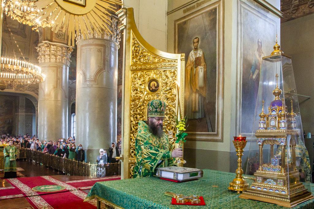Православные тамбовчане отмечают праздник Входа Господня в Иерусалим