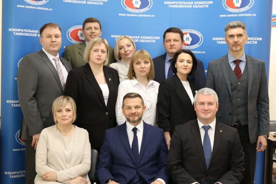 Председатель избиркома Тамбовской области Андрей Офицеров переизбран на новый срок