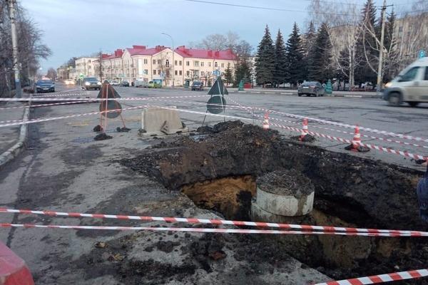 При ремонте улицы Гастелло подрядчики использовали строительный мусор вместо песка