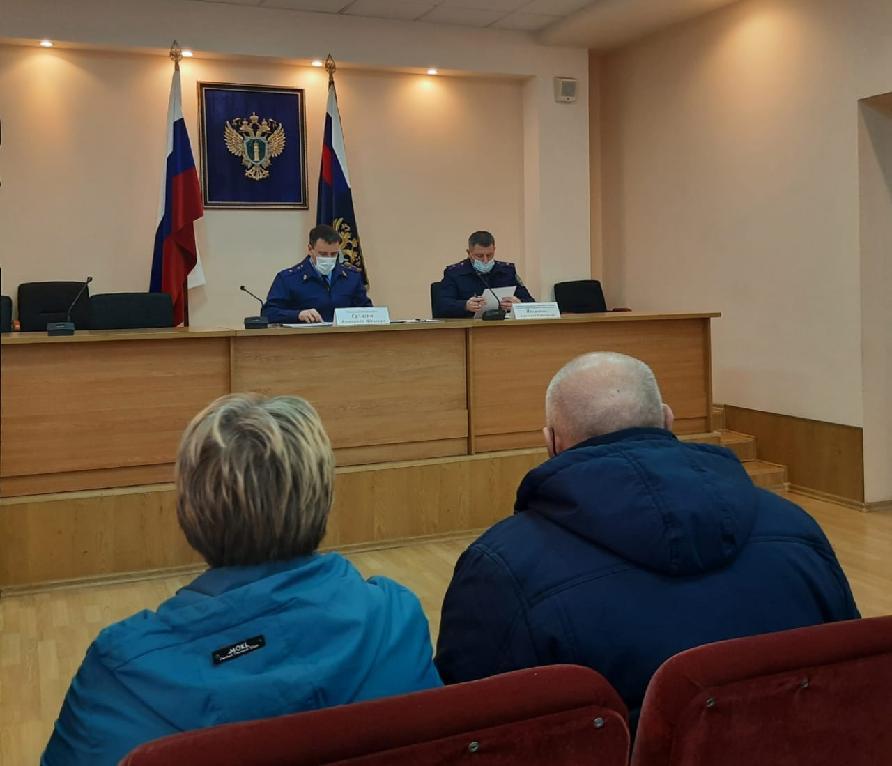 Прокурор Тамбовской области и руководитель СУ СК региона провели совместный прием граждан