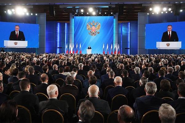 Путин раскрыл темы послания Федеральному Собранию