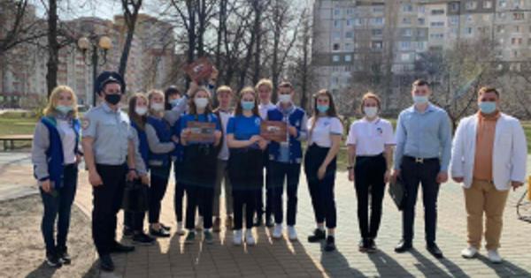 Сотрудники полиции провели дляподмосковных школьников акцию «Знакомство спрофессией»