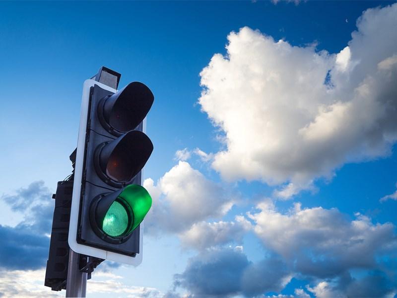 Светофоры на Рассказовском шоссе начали работу в штатном режиме