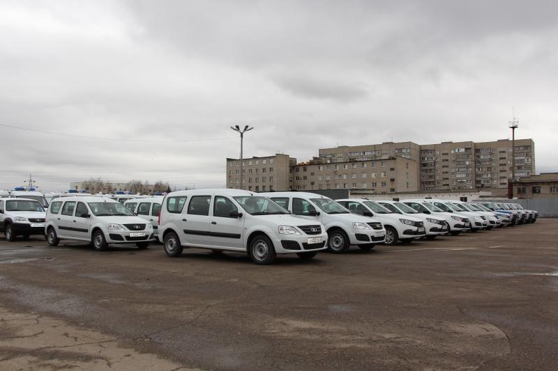 Тамбовская полиция получила новые автомобили