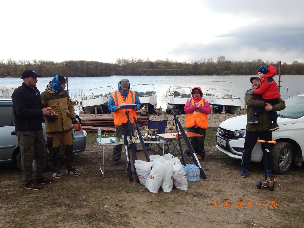 Турнир по рыболовному спорту прошёл в Тамбове