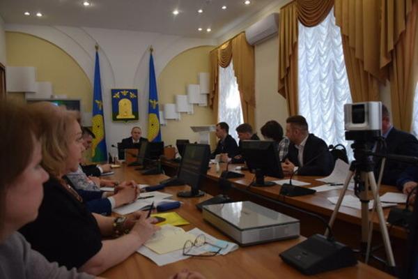 В администрации Тамбова обсудили ход работ по благоустройству города