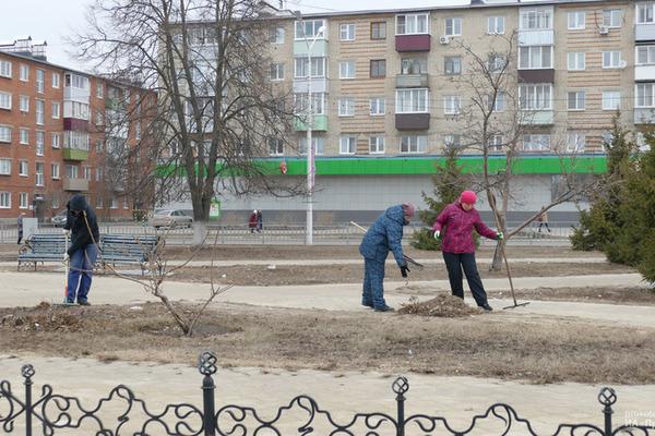 В Котовске объявлен весенний месячник благоустройства городской территории