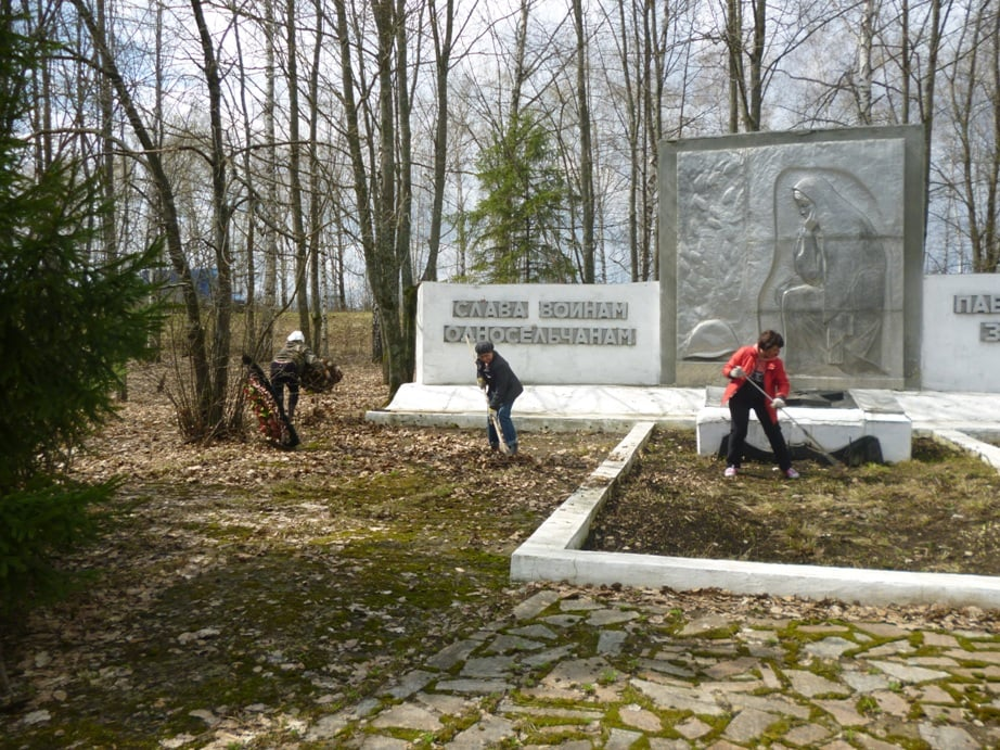 В Моршанском районе прошел Всероссийский субботник