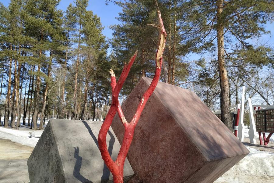 В отношении повредившего памятник в Котовске вандала возбуждено уголовное дело