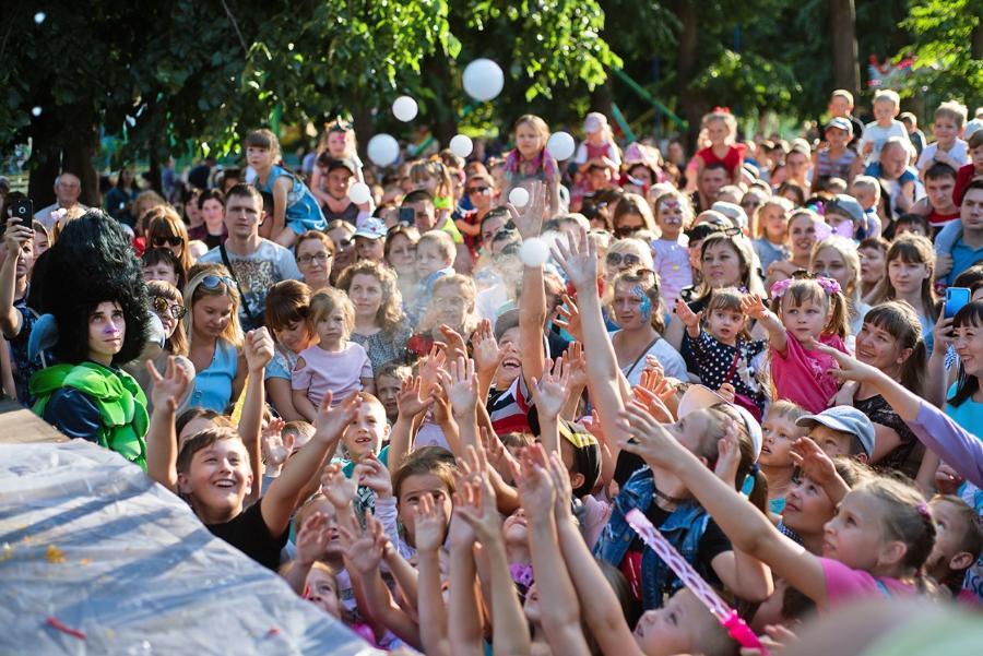 В парке культуры и отдыха в Тамбове устроят шоу мыльных пузырей