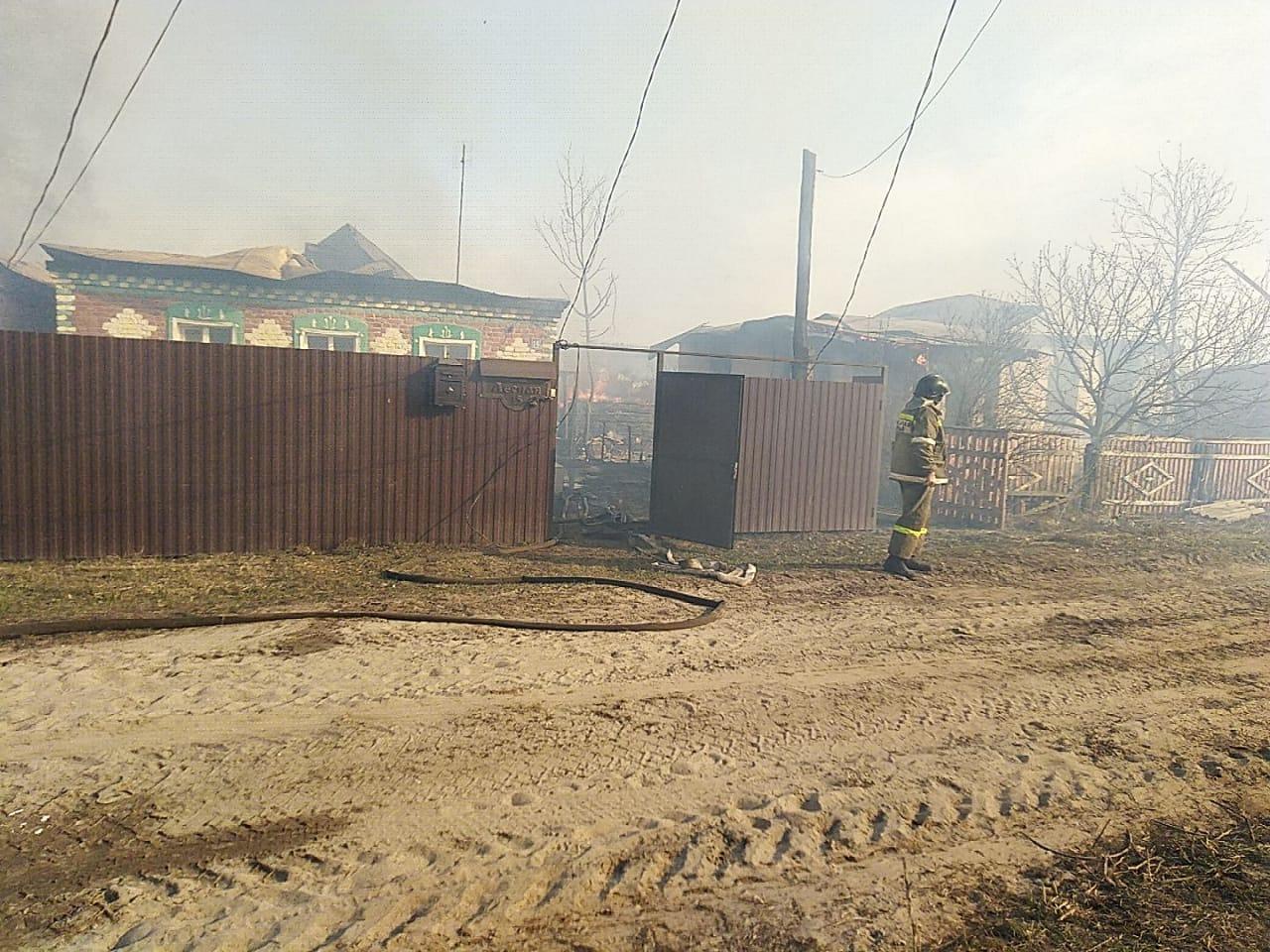 В Сосновском районе пожар уничтожил более 20 домов